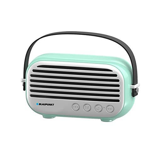 Blaupunkt BLP3350.182 Altavoz Portatil Bluetooth Radio Retro, 10W, FM, Micro SD, FM,...