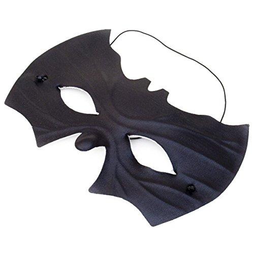 Fledermaus Maske - Schwarze Augenmaske Fledermausmaske Unisex (Fledermaus Maske Kostüm)