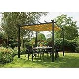 Rowlinson Latina Aluminium Frame Canopy - 9 x 9ft. ()