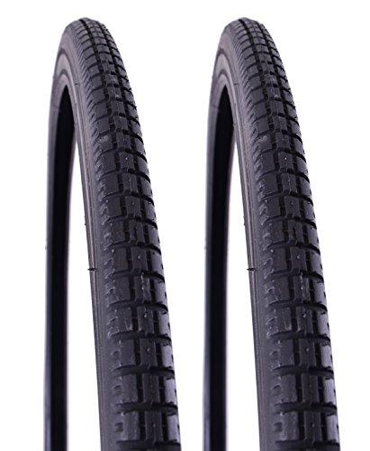 "VEE RUBBER KEVLAR 66,04 (26 cm x 1 3/20,32 (8 cm (37"")-590) pneumatici per bici da strada vrb015 Vp (coppia), colore: nero"
