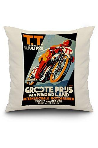 tt-groote-prijs-vintage-poster-artist-devries-c-1931-20x20-spun-polyester-pillow-case-custom-border