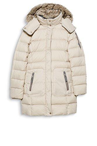 ESPRIT Damen Mantel Beige (Light Beige 290)