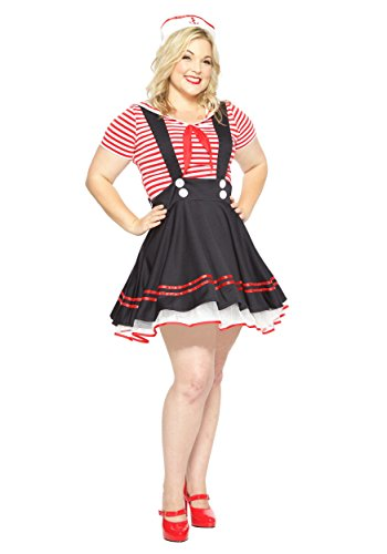 tro Sailor Girl Fancy dress costume 1X (Sailor Girl Kostüm Plus Size)