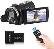 Andoer Andoer HDV-201LM 1080P FHD Digital Video Camera Camcorder DV Recorder 24MP 16X Digital Zoom 3.0 Inch LC