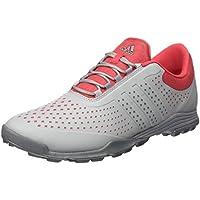 adidas W Adipure Sport Zapatos de Golf Para Mujer, Multicolor (Rosa/Gris/Plata), 39 1/2 EU