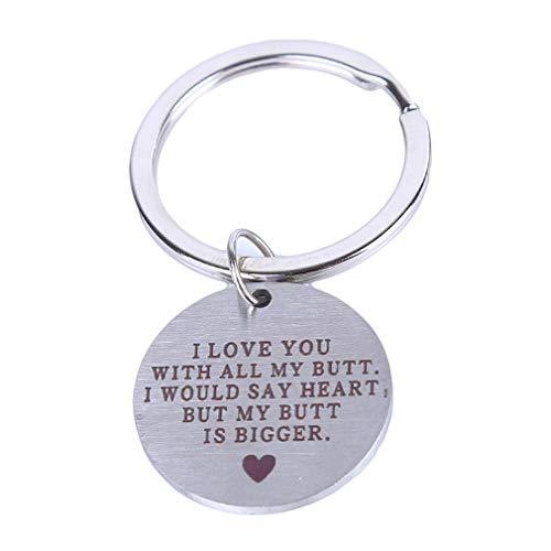 de Schlüsselbund Ich Liebe Dich Schlüsselbund Liebe Valentinstag Schlüsselbund für Männer und Frauen ()