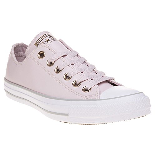 Converse Damen Chuck Taylor CTAS Ox Synthetic Fitnessschuhe, Pink (Barely Rose/White/Mouse 653), 36/37 EU -