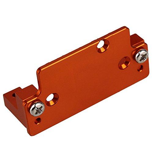 BQLZR Orange 180010 Alloy Servo Plate &Servo Mount for HSP 94180 RC 1:10 Rock Crawler