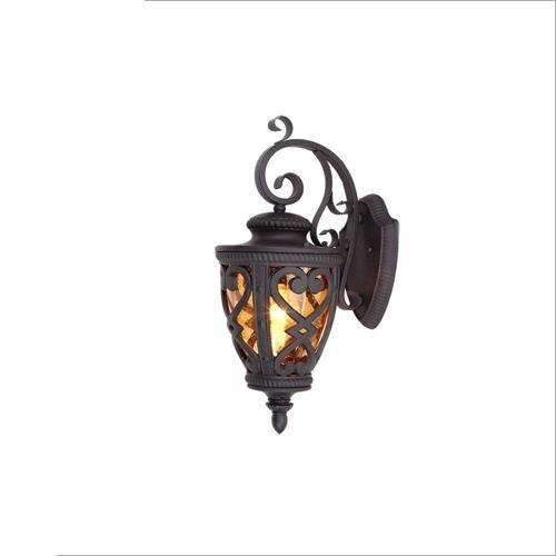 FXING Lanterne Murale d'Extérieur Vintage Style Industriel Lampe Murale Jardin rétro éclairage pour Porte d'allée de Jardin Mur étanche Light Corridor
