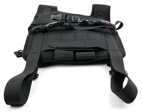 Robuster und widerstandsfähiger Rucksack (schwarz) der Marke DuraGadget für DJI Phantom 3 4K / DJI Phantom 3 Advanced / DJI Phantom 3 Professional und DJI Phantom 4 - 2