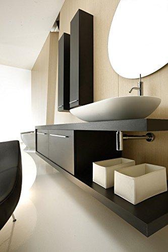 Artimode made in italy mobile bagno '' moon'' completo di due colonne