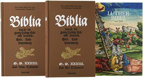 Die Luther-Bibel von 1534 (Pergament-foto-papier)