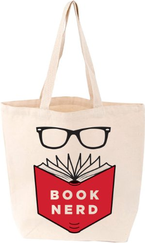 Book Nerd Tote Bag (LoveLit)