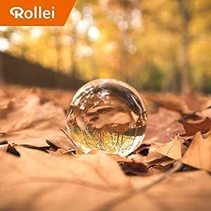 Rollei-Lensball-Foto-Glaskugel-Kristallkugel-aus-optisch-vergteten-K9-Glas-ideal-fr-DSLR-DSLM-und-Smartphones
