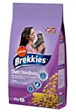 Brekkies Croquettes Chats Stérilisés au Poulet Céréales Complètes 4Kg (Lot de 3)