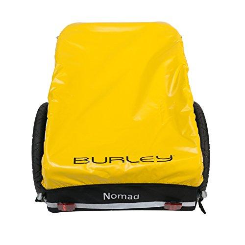 Burley  Fahrradlastenanhänger Nomad, schwarz/gelb, One Size, 3091960000 - 3