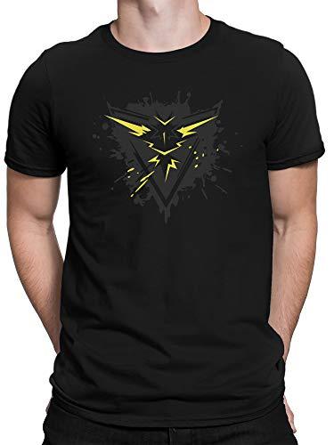vanVerden Camiseta Premium Team Amarilla Intuition Trainer Shirt Go Gaming, Hombre, Tamaño:XXL,...
