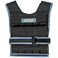 Xenios USA Verstellbare Kurz-gewichtsweste aus Nylon-30 kg, VSWGVT03