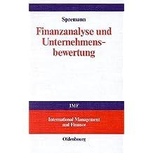 Finanzanalyse und Unternehmensbewertung