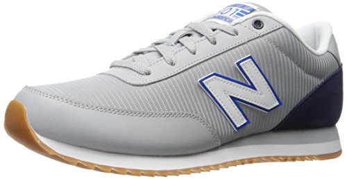 New Balance Mens 501 Lifestyle Fashion Sneaker Silver Mink/Dark Denim