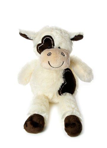 36cm Niedliche Plüsch Kuh Stofftier für Baby-Kinder Jungen Mädchen Kuh Stofftier Klein