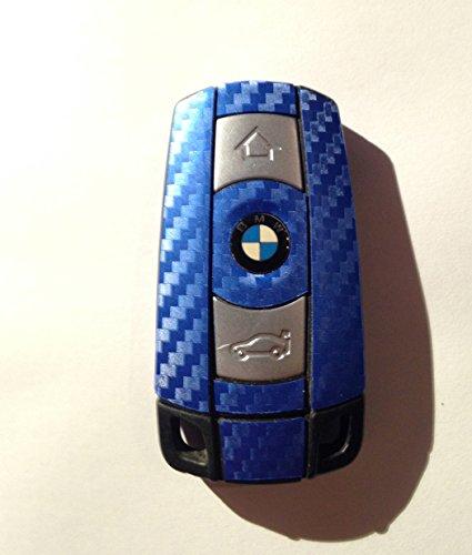 design-folien089-carbon-foil-blue-design-key