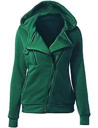 876f17a52502 Yiiquanan Femme Sweat-Shirt à Capuche Manche Longue Top Manteau de Hoodie  Pullover pour Automne