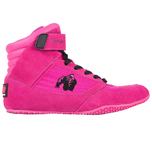 GORILLA WEAR High Tops Damen Pink - Bodybuilding und Fitness Schuhe Frauen 38