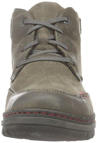 Josef Seibel Herren Jacob 09 Combat Boots Grau (vulcano/KOMBI 667)