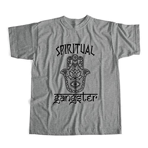 Spiritual Gangster Tshirt Spiritual Gangster Tshirt Unisex Grau L