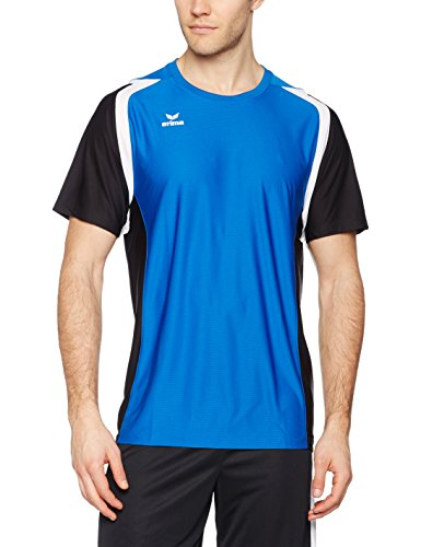 erima Herren T-Shirt Razor 2.0 New Royal/Schwarz/Weiß