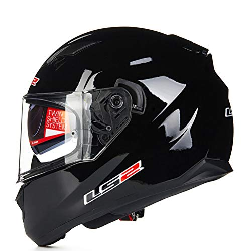 Adult Full Face Motocross Helme Double Lens Abnehmbare und waschbare Einlage Racing Protection Caps Stoßfest Anti Fall Mountain Road Motorradhelm -