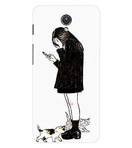 EPICCASE Lonely girl Mobile Back Case Cover For Asus ZenFone C (Designer Case)