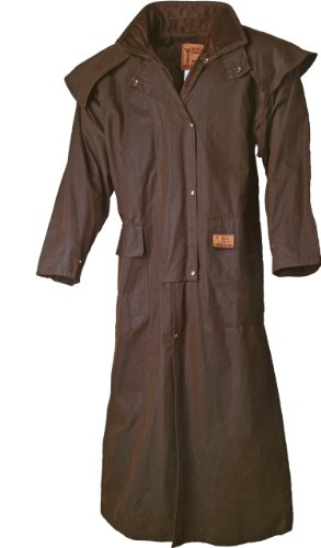 Scippis - Riding Coat Oilskin brown
