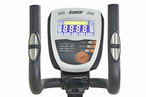 Gregster Crosstrainer Ergometer Heimtrainer, Ausdauertraining für zuhause, Ellipsentrainer mit Benutzergewicht bis zu 130 kg - 8