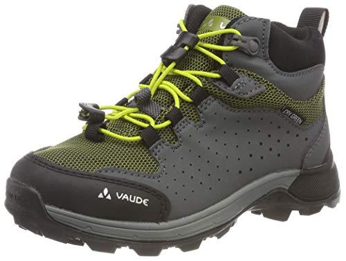 Vaude Unisex-Kinder Kids Lapita Mid CPX Trekking- & Wanderhalbschuhe, Pink (Duff Yellow 107), 37 EU