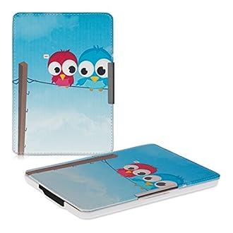 kwmobile Cover compatibile con Amazon Kindle Paperwhite - Custodia a libro in pelle PU - Flip Case per eReader (NON compatibile con modelli del 2018 10ª gen.)