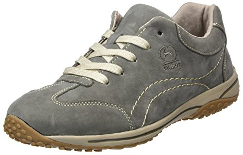 Gabor Shoes Damen Comfort Basic Derbys, Grau (Grafite), 37.5 EU