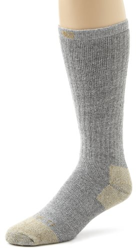 Steel Toe Cotton Work Boot Sock (3er Pack) - Farbe: Grey - Größe: L (Pack Boot Sock Herren)