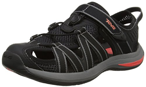 Teva Ladies Pink Ws Sandals Multicolore (nero / Corallo)