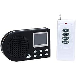 Appeau numérique MP3 pour la chasse aux oiseaux + télécommande sans fil