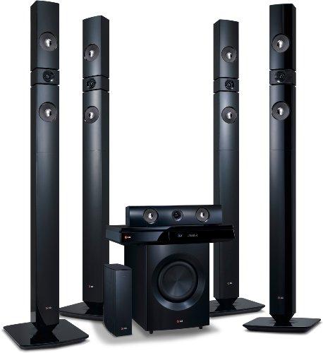 LG BH7530TWB 3D Blu-Ray 5.1 Heimkinosystem mit Wireless Lautsprecher (1200 Watt, HDMI) schwarz