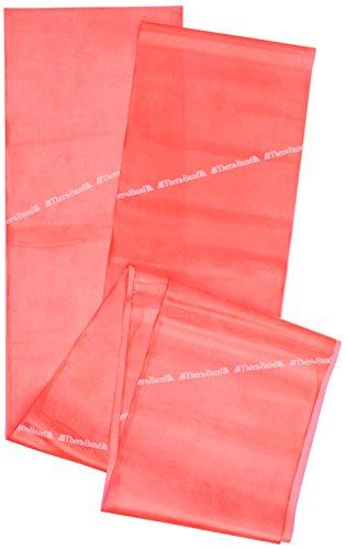 Thera-Band Gymnastikmatte elastisches 2,5 m mit kleinem RV-Fach rot rot 2,5 m