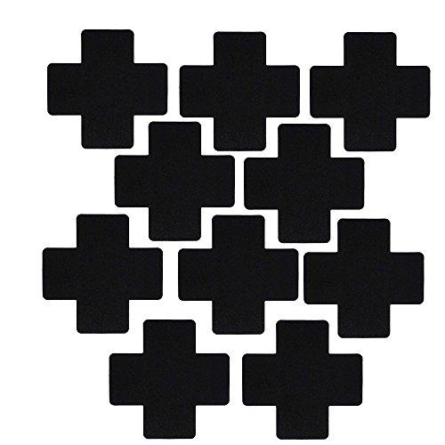 r BH 43pairs Mixed style full Einheitsgröße Gr. Einheitsgröße, 5 Pairs Cross Black (Einfache Fünf Minuten Kostüme)