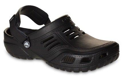 Coqui sabots-chaussures unisexe en couleurs **noir, marron, bleu marine, pierre ** Noir - Noir