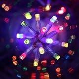 Guirlande lumineuse 300 lampes LED Multicolores 18 mètres d'éclairage et 8 jeux de lumière