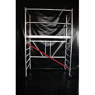 KiezGerüst Das Gerüst für den Profi - Zimmergerüst Rollgerüst Rollrüstung Ah. 3,85 Meter 0,95 m Breite