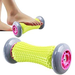 HO2NEL Fußmassage Roller Hand und Fuß Muscle Roller Stick 3D Trigger Point für Schmerzlinderung Plantarfasciitis Vorarme Armschmerzen Entspannung