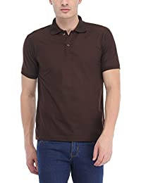 Trendy Trotters Brown Polo Cotton T-Shirt