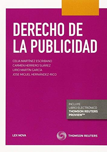 Derecho De La Publicidad (Lex Nova) (Manuales) por Aa.Vv.